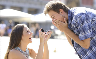 girl proposes to guy